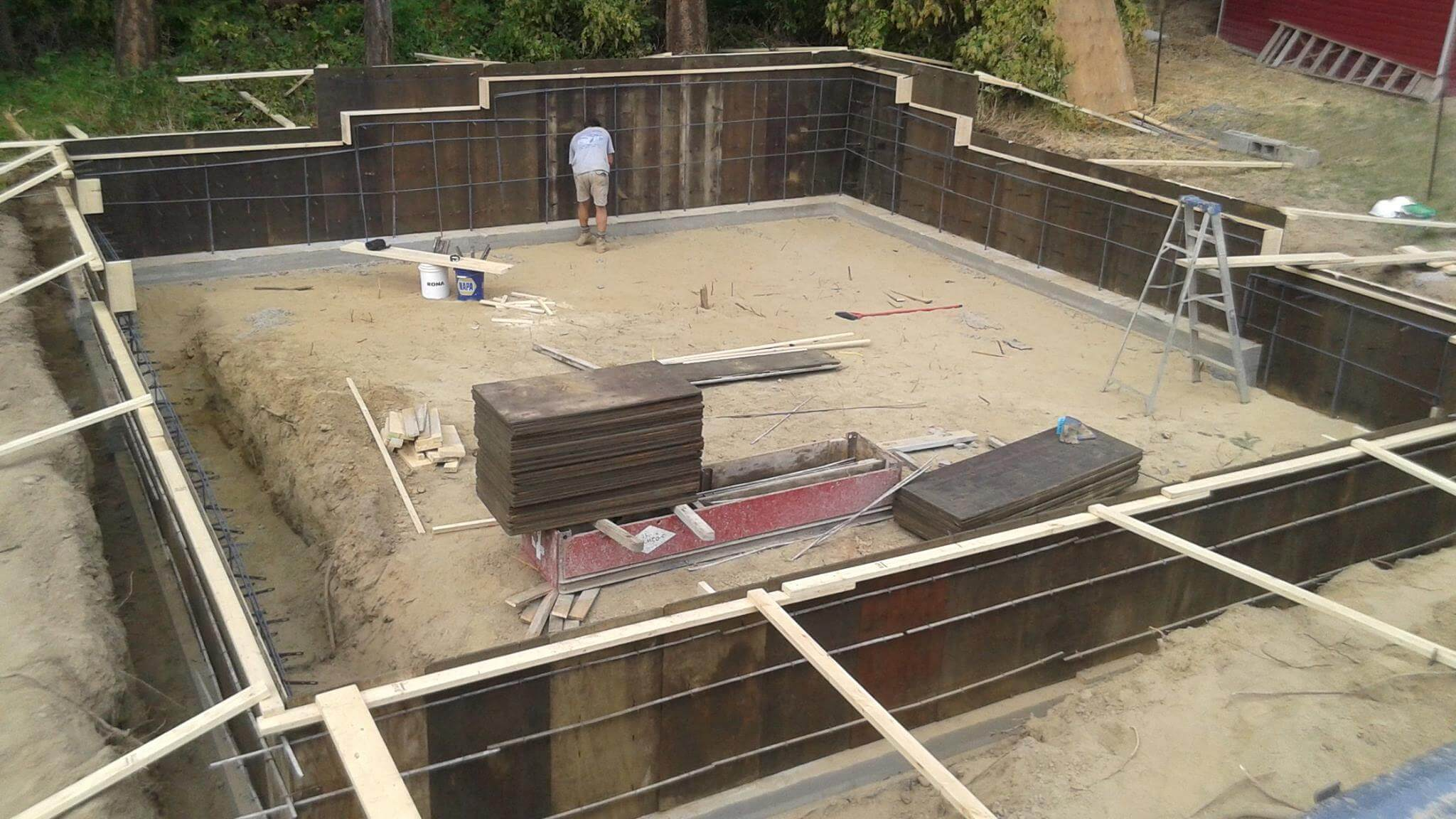 septic construction